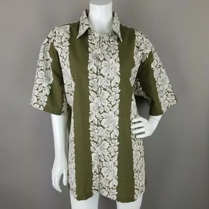 Tommy Hilfiger Tropical Hawaiian Print Button Down